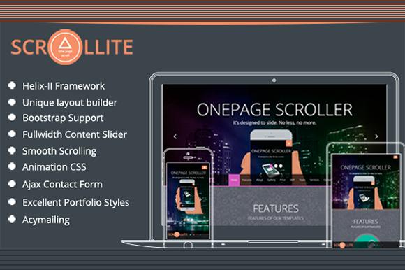 TM Scrollite-Onepage Joomla Template