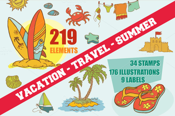 219 Vacations Summer Elements