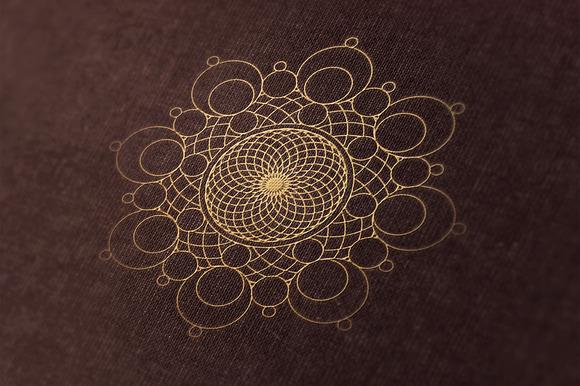 24 Geometric Shapes Lines