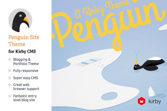 Blog Portfolio CMS Penguin