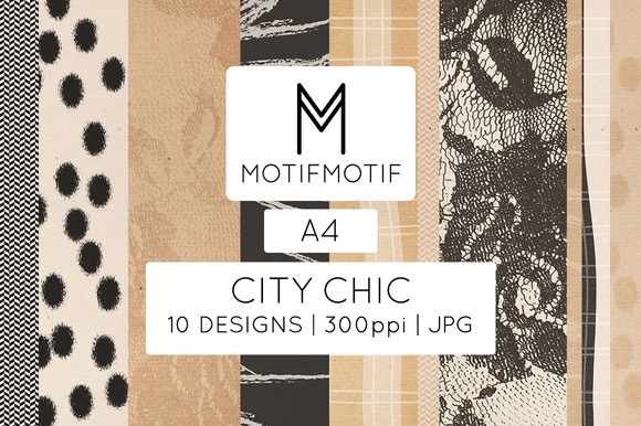 City Chic In Black And Cream A4