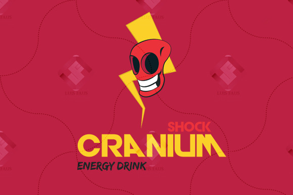 Shock Cranium Energy Drink