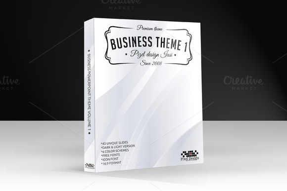 Business PowerPoint Theme Volume 1
