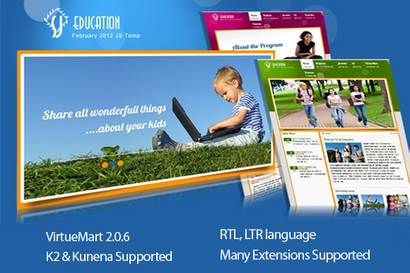 SJ Education With VirtueMart K2