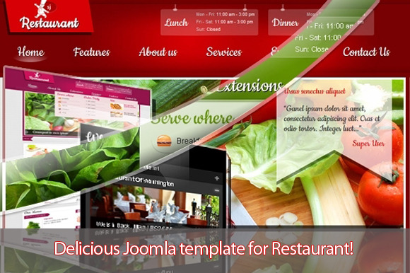 SJ Restaurant Pure Design Template