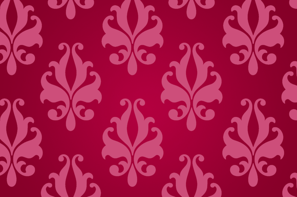 Hot Red Wallcovering