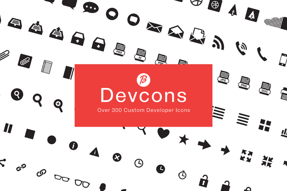 Devcons 300 Font Icons