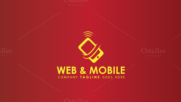 Mobile Networs Tech Logo Template