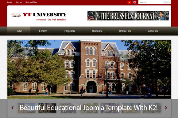 YT University Educational Template