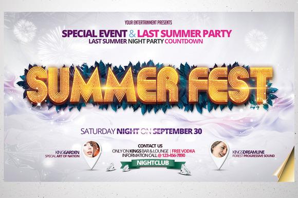 Summer Fest Flyer