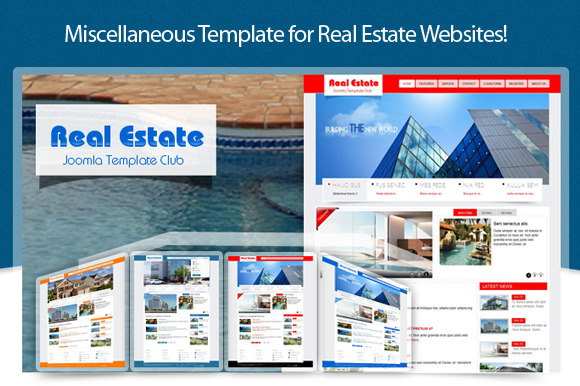 SJ Real Estate Business Template