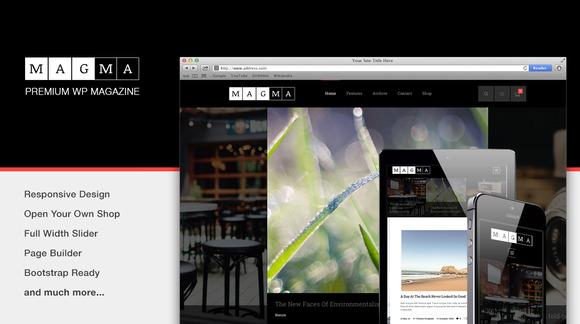 Magma-Responsive WordPress Magazine