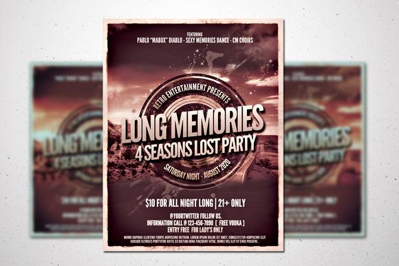 Retro Music Poster Vol.1