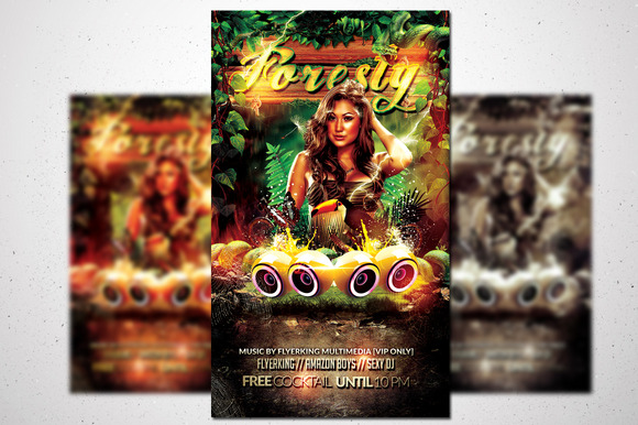 Foresty Flyer Jungle Fever