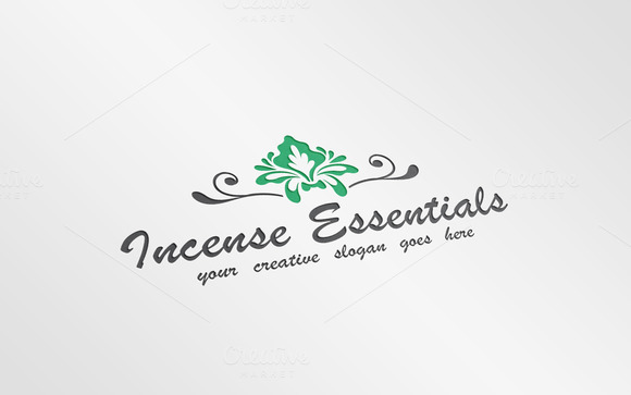 Gift Shop Decorative Logo Template