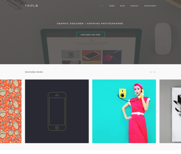 Triplo WordPress Theme