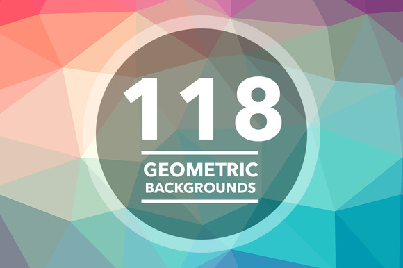 118 Geometric Triangle Backgrounds