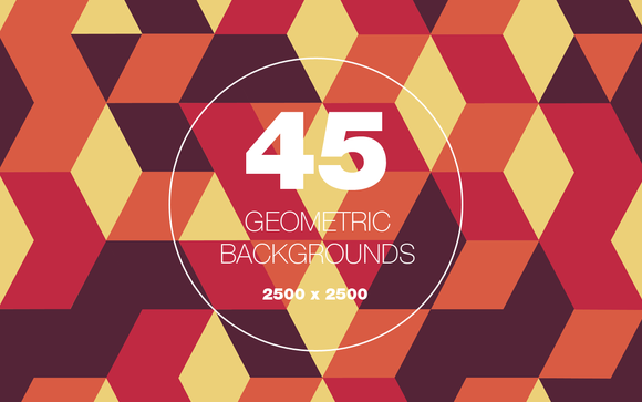 45 Geometric And Pattern Backgrounds