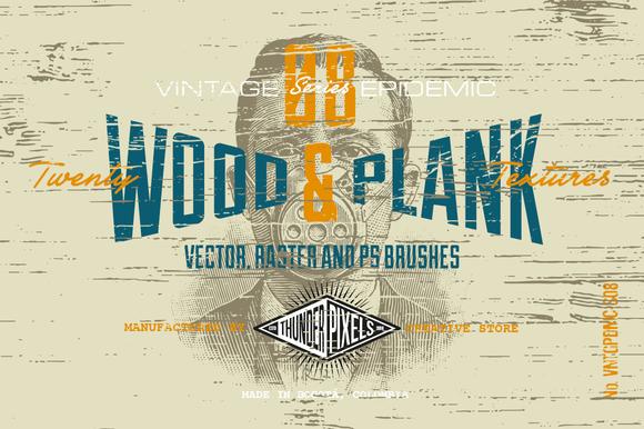 20 Wood Plank Textures VES08