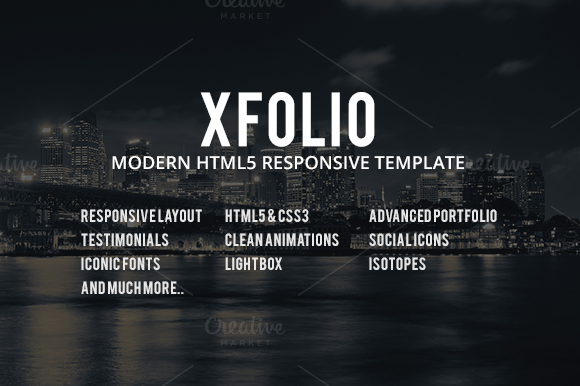 Xfolio Responsive Business Template