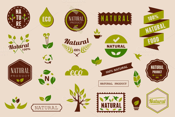 Eco Graphic Elements