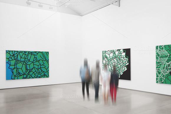 Gallery Exhibition Mockup 05