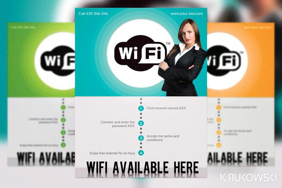 WiFi Hot Spot Flyer