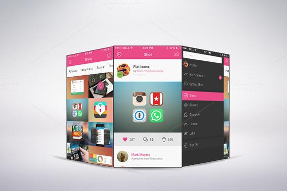 Apps Phone Mock-ups