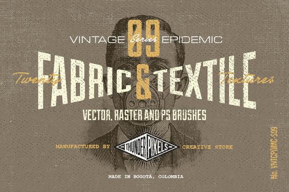 20 Fabric Textile Textures VES09