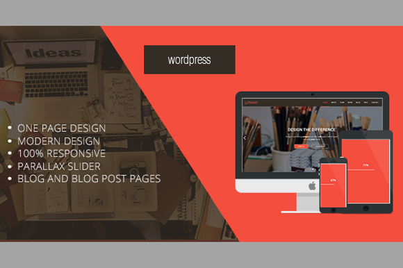 LORANS-Wordpress One Page Parallax