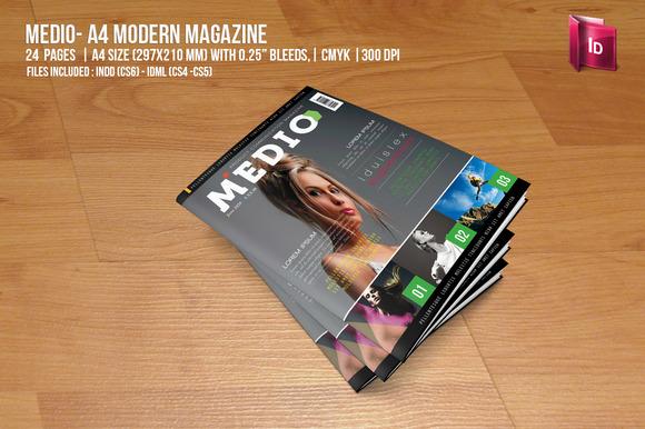 Medio Modern Magazine
