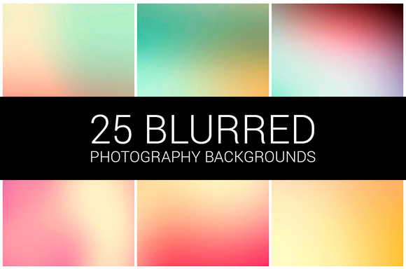 Blurred Backgrounds Pack 01