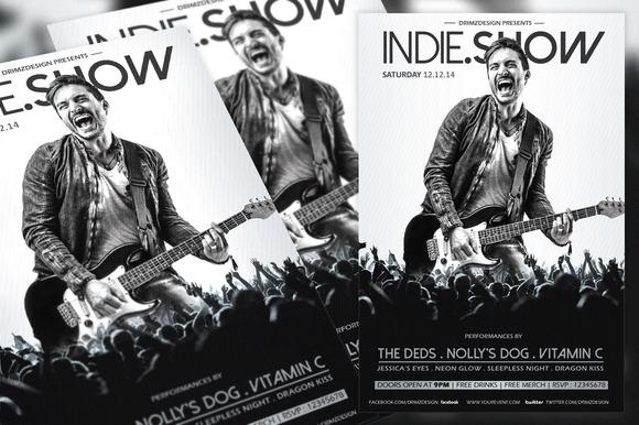 Indie Show Flyer