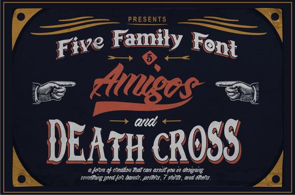 5 Family Font