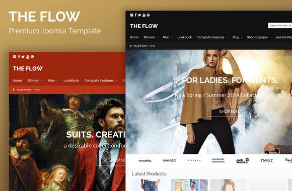The Flow Joomla Virtuemart Theme