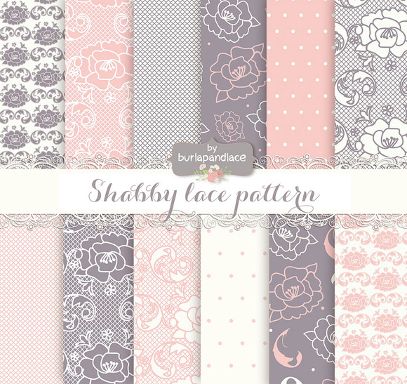 Shabby Lace Pattern