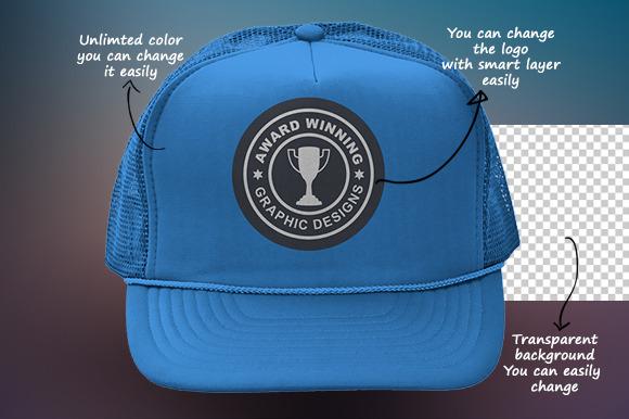 Baseball Hat Mock-up V1