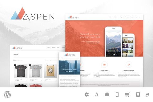 Aspen Multipurpose WordPress Theme