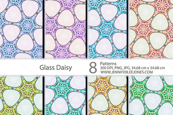 Glass Daisy Patterns