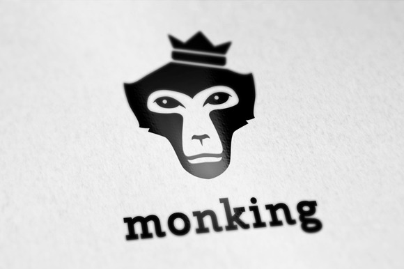 Mongking Logo Template
