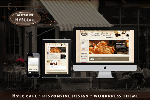 HYEC Cafe WordPress Theme