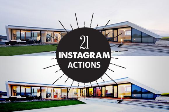 21 Instagram PhotoShop Action
