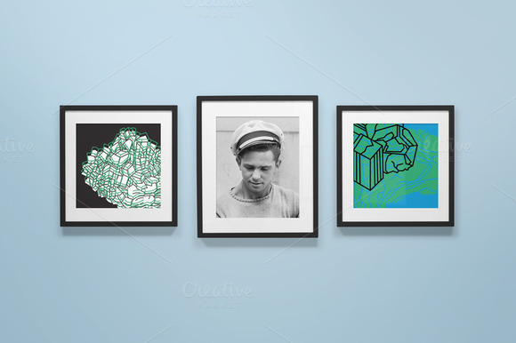 Frame Gallery Mockup 02