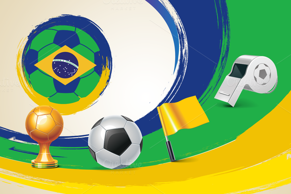 Brazil World Cup Icons