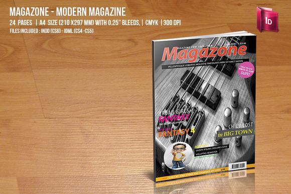 Magazone Modern Magazine