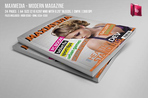 Maxmedia Modern Magazine