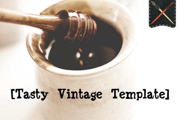 Tasty Vintage Template