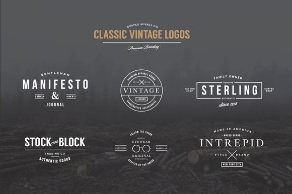Classic Vintage Logos