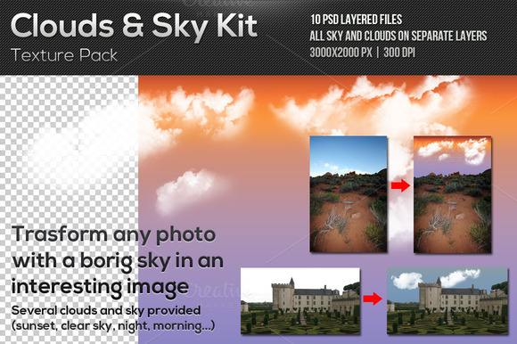 Clouds And Sky Kit