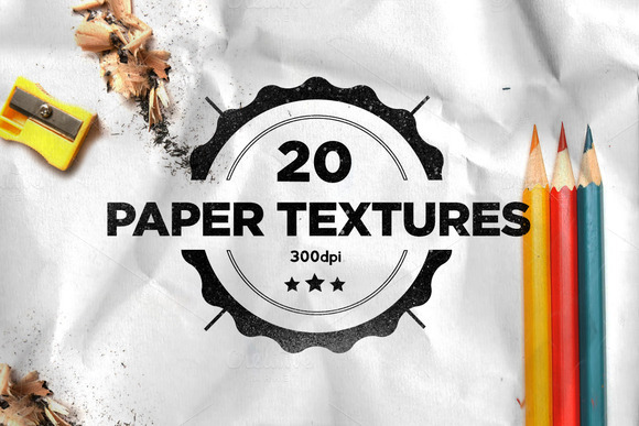 20 Folded Paper Textures